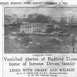 Vanished glories of Radford House