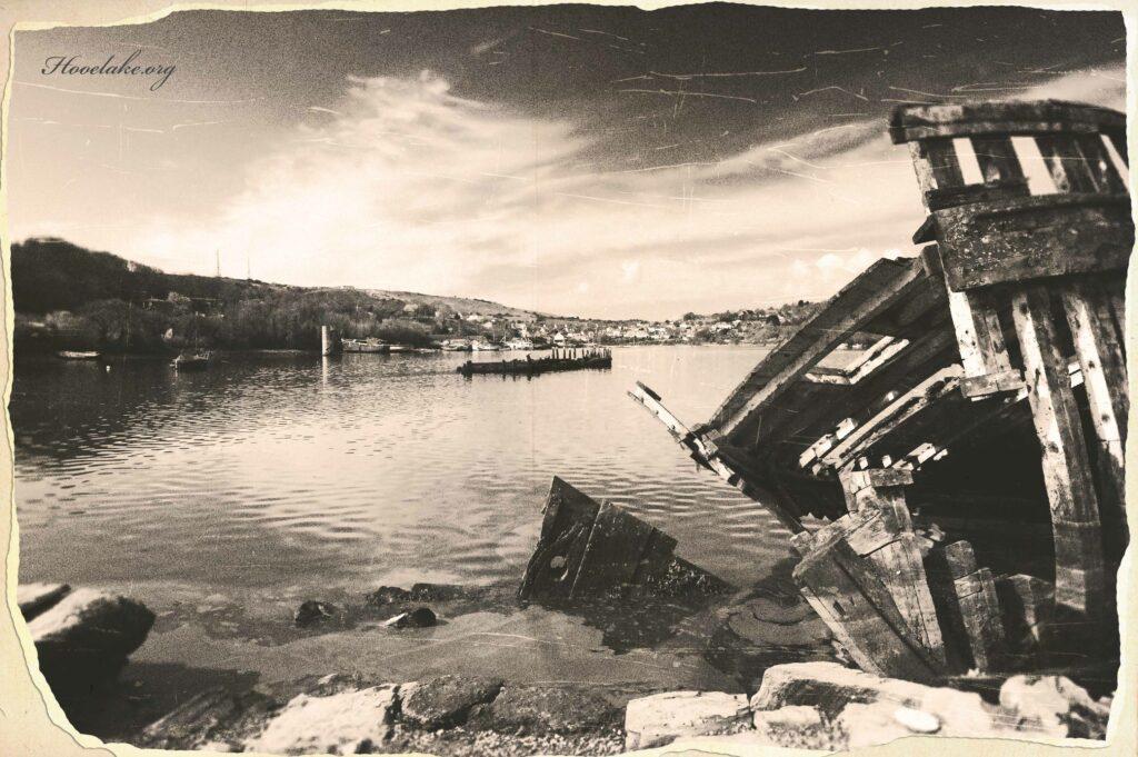 Hooe Lake Wrecks Inspiring Art & Memories