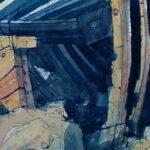 Hooe Lake Hulks, Paintings by Richard Allman