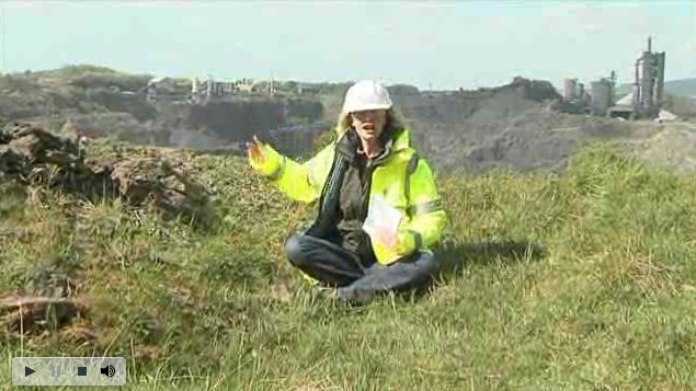 Kate Humble Quarry Wildlife
